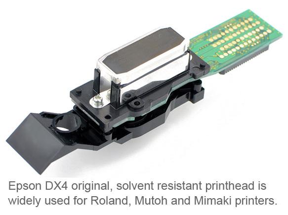 DX4 Solvent Printhead