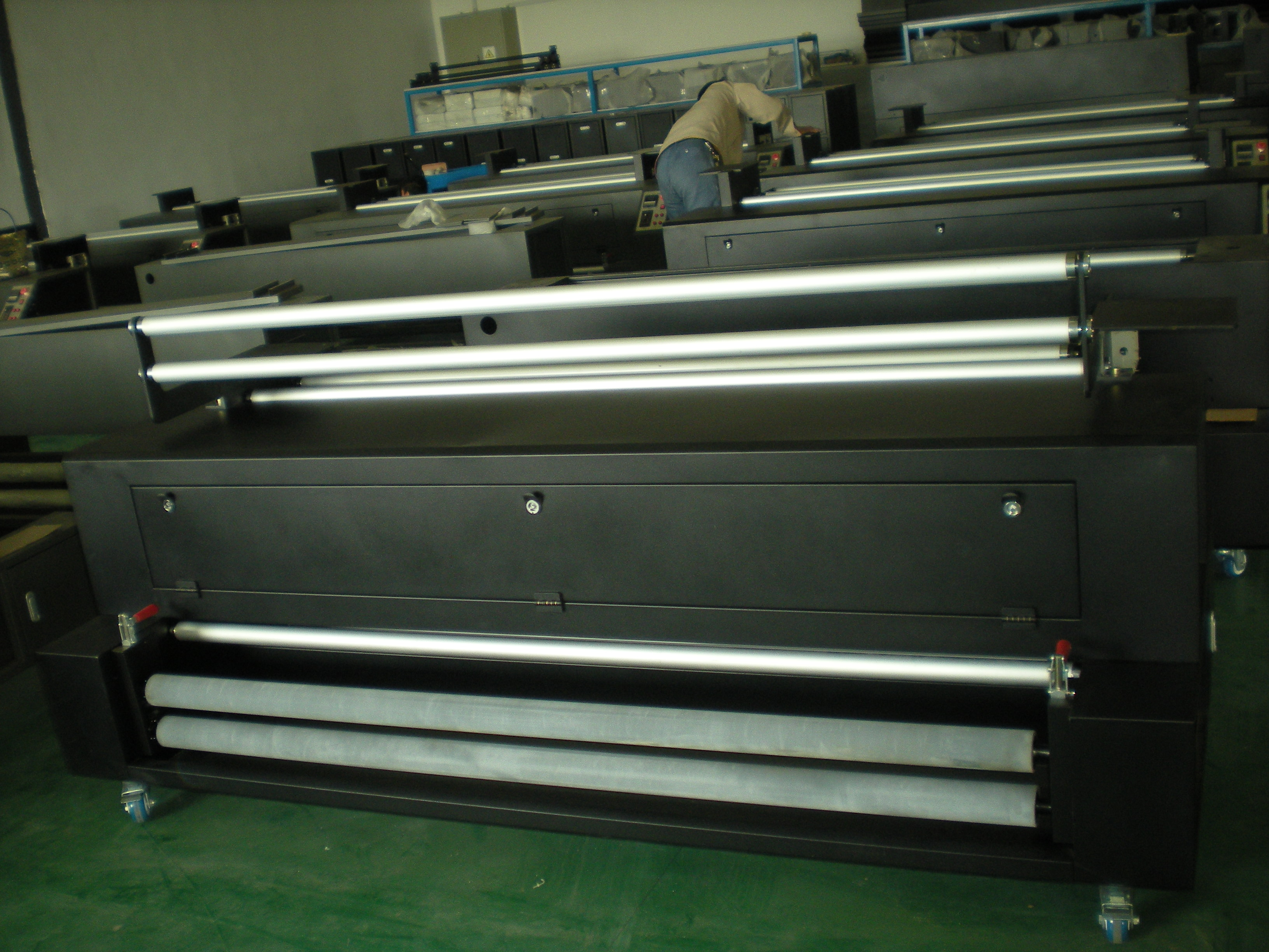 Direct Dye Sublimation Printer and Heater-Mut1600 (1600mm Flag-Making System)