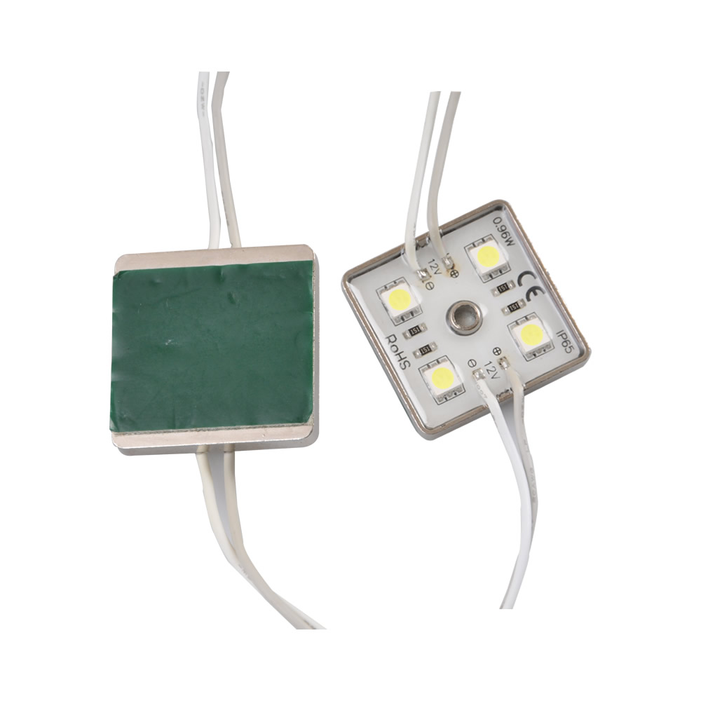 36mm*36mm Waterproof LED Module(SMD 5050,4LEDs,Zinc Base,white light)
