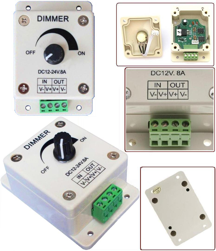 Free Shipping LED Dimmer