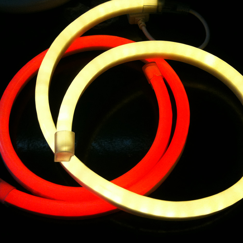 164´ (50m) LED Neon 2-Wire Rope Light Spool(30 LEDs per foot)
