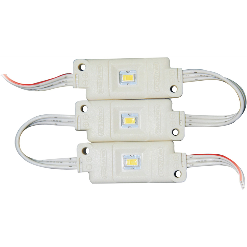 High Power 1 SMD Waterproof LED Module, White LED 0.4W(48x18.5mm)