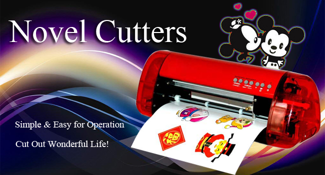 A4 Mini Vinyl Cutter and Plotter with Contour Cut Function