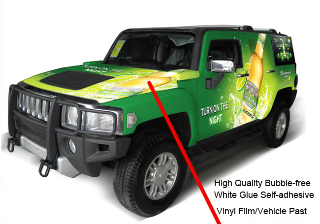 Self-adhesive Vinyl Film application