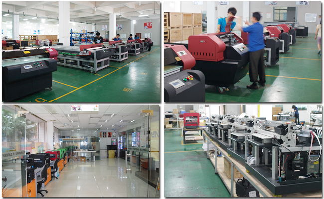 A3 LED UV Flatbed Printer production process