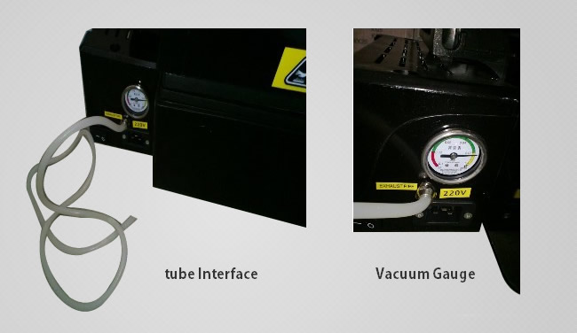 3D vacuum heat transfer machine details