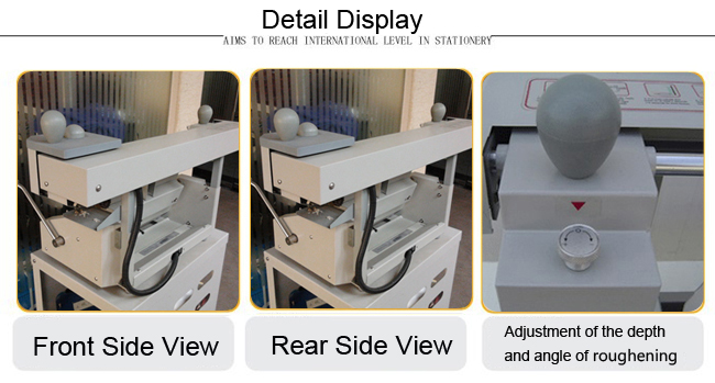 Perfect Binding Machine details display