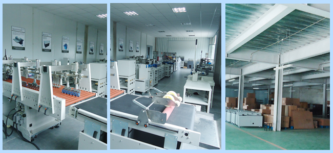 Perfect Binding Machine production process