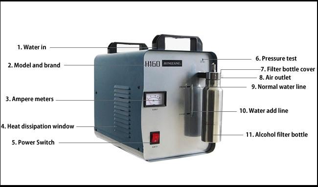 flame acrylic polishing machine instruction