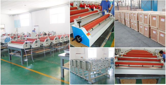 roll laminator production process