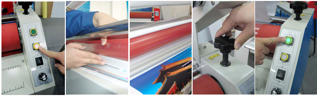 roll laminator usage