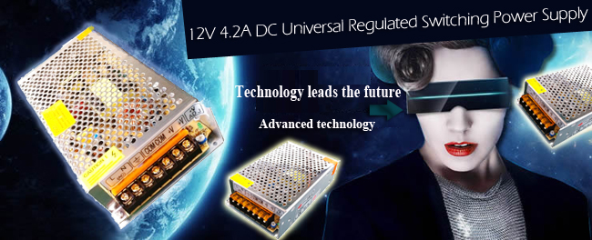 DC Universal Regulated Switching Power Supply advertising