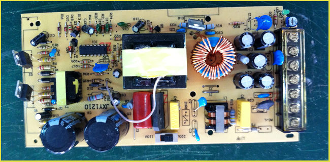 DC Universal Regulated Switching Power Supply details