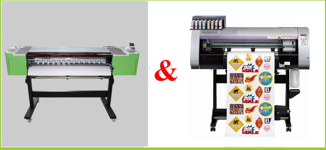 Eco-Solvent Printer&Cutter Digital Wide Format inkjet Machine comparison