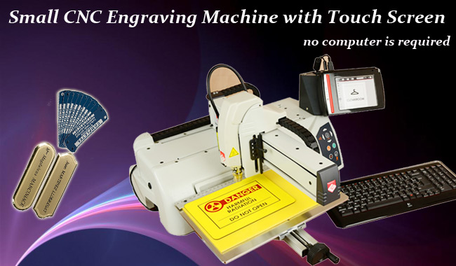 Smart Small CNC Engraving Machine advertising