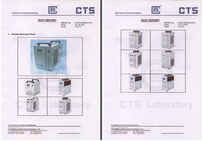 CW-3000 Water Chiller quality