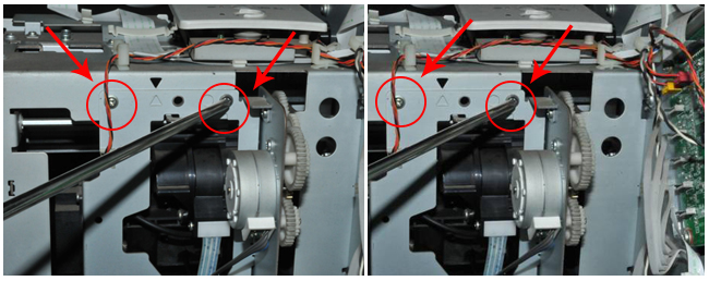Mutoh Water Based Pump Capping Assembly usage