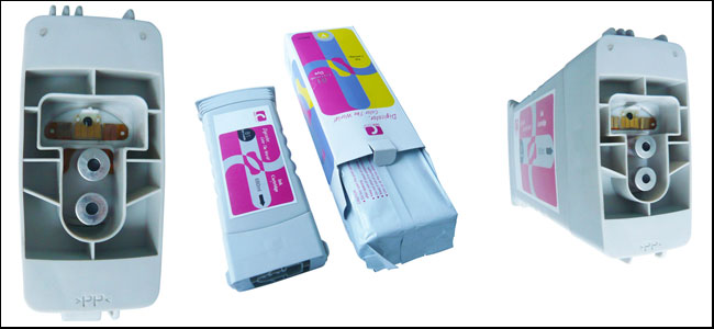 Compatible HP DesignJet 5000/5500 Dye Ink Cartridge