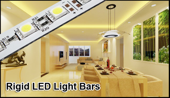 Rigid LED Light Bars advertising