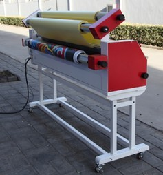 Full - auto Wide Format Roll Low Temperature Cold Laminator