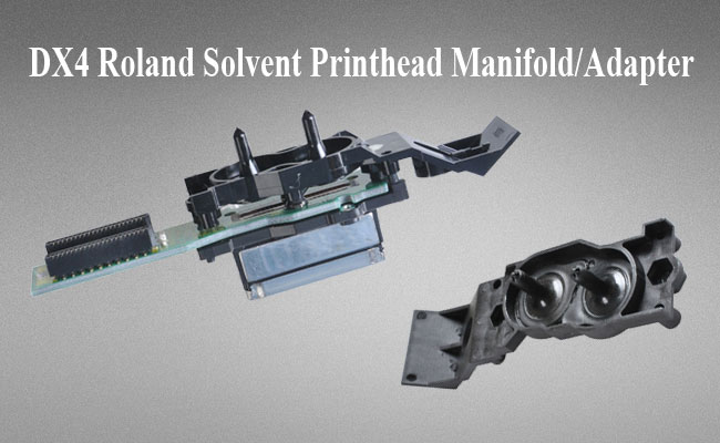 BEL Stock-6 pcs DX4 Roland Solvent Printhead Manifold / Adapter
