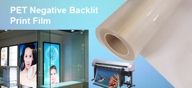PET Negative Backlit Print Film(125u)