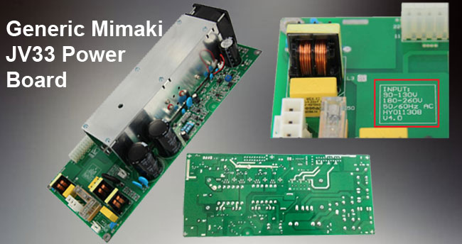 Generic Mimaki JV33 Power Board
