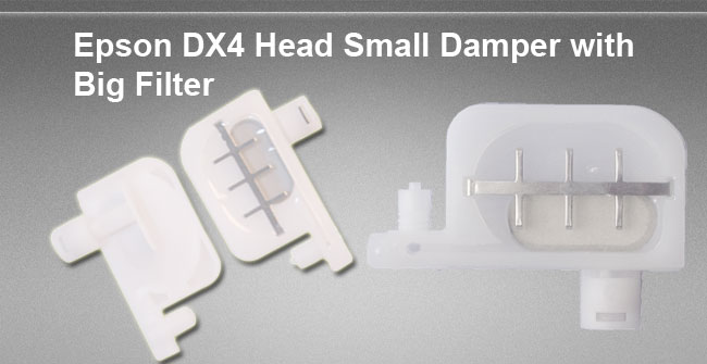 BEL Stock-12 pcs DX4 Head Small Damper with Big Filter