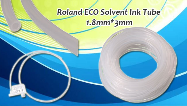 US Stock-50meters 1.8mm x 3mm ECO Solvent Ink Tube for Roland Mutoh Mimaki