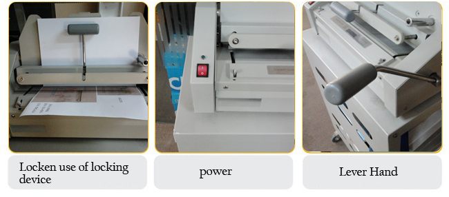 320*235mm Perfect Binding Machine