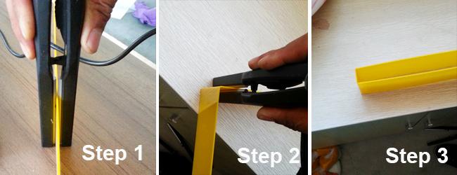 Manual Acrylic Letter Making Bending Machine Tool