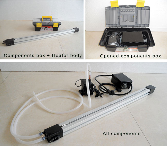 Manual Acrylic Letter Bending Machine Heater details