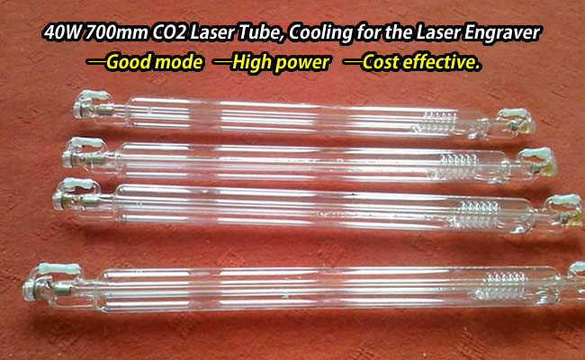 40W 700mm CO2 Laser Tube, Cooling for the Laser Engraver