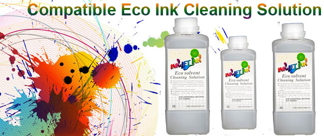 Compatible ECO Ink Cleaning Solution