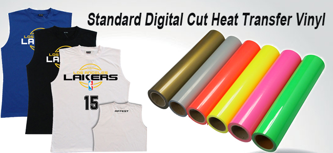 Standard Digital Cut Heat Transfer Vinyl