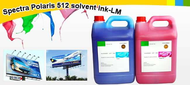 Spectra Polaris 512 solvent ink-LM