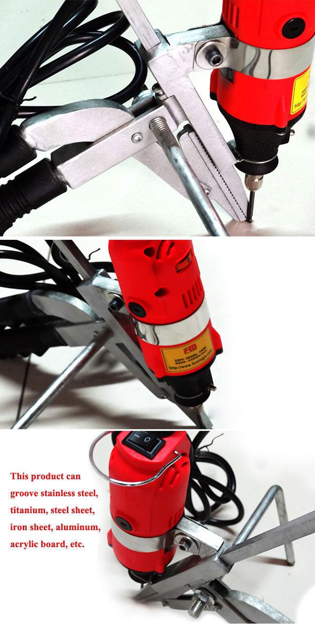 Metal bending tool details