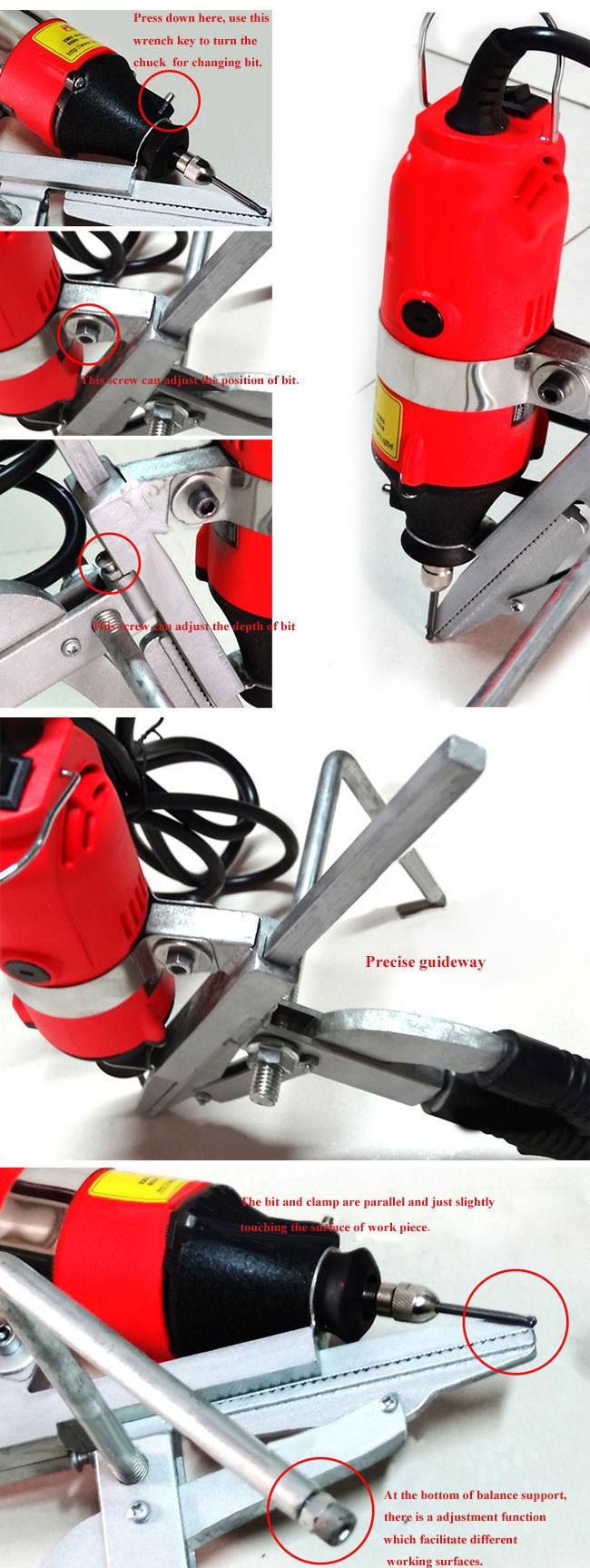 Metal Letters Bender Bending Machine Tool details 2