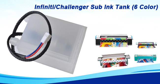 Infiniti/Challenger Sub Ink Tank (6 Color)