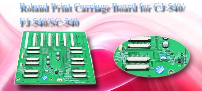 Roland Print Carriage Board For CJ-540 / SJ-540 / SC-540