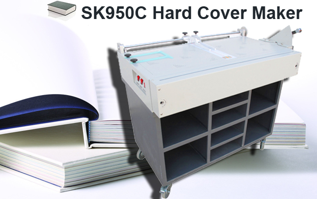980*466mm Hard Cover Maker(Literature Table & Electric Edge Folding)