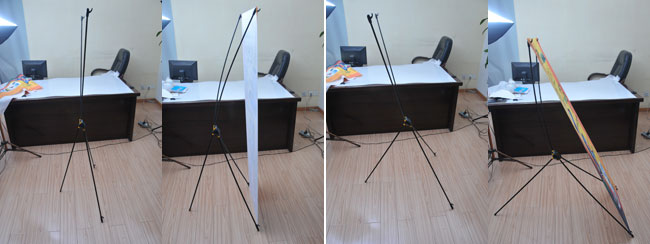 Good Quality Carbon Fiber X Banner Stand application 1