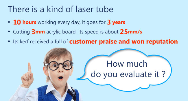 RECI CO2 Laser Tube Advertising