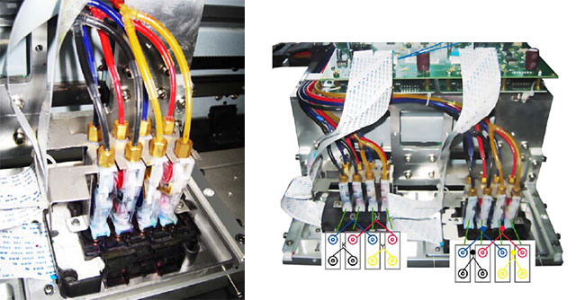 Wit-color Ultra 9200 1601W1601S1902S2302S3302S Printers Original Damper application