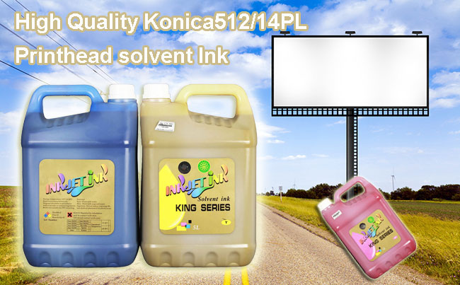 High Quality Konica512/14PL Printhead solvent Ink