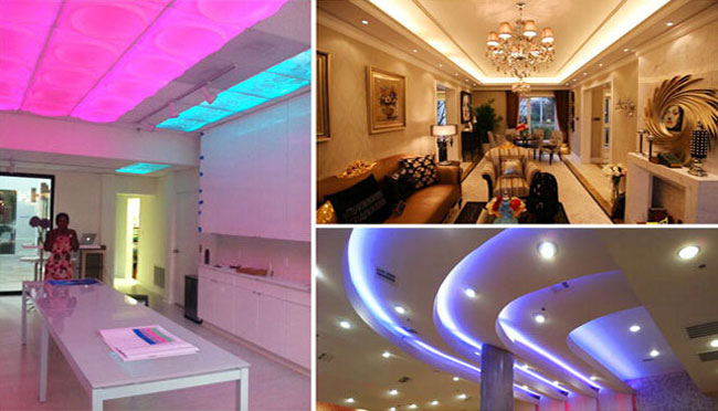 Waterproof RGB Color Changing LED Strip application 1