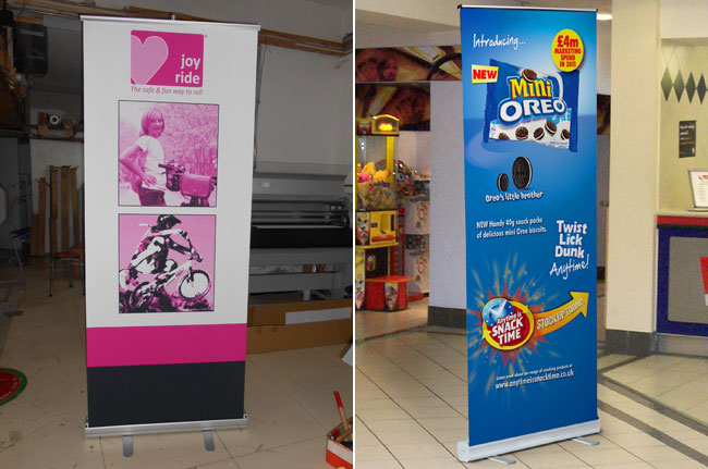 Roll Up Banner with Artwork Printing application 2