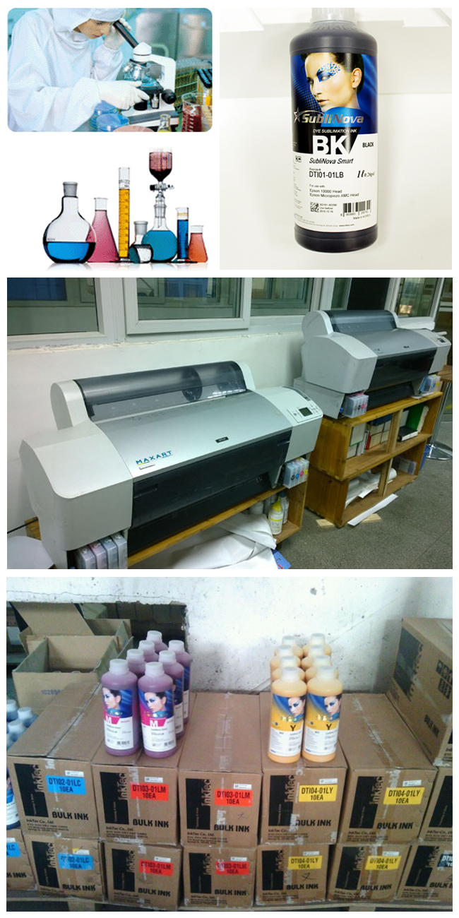 Sublimation Ink Inktec process