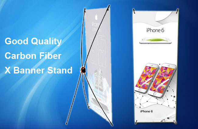Good Quality Carbon Fiber X Banner Stand