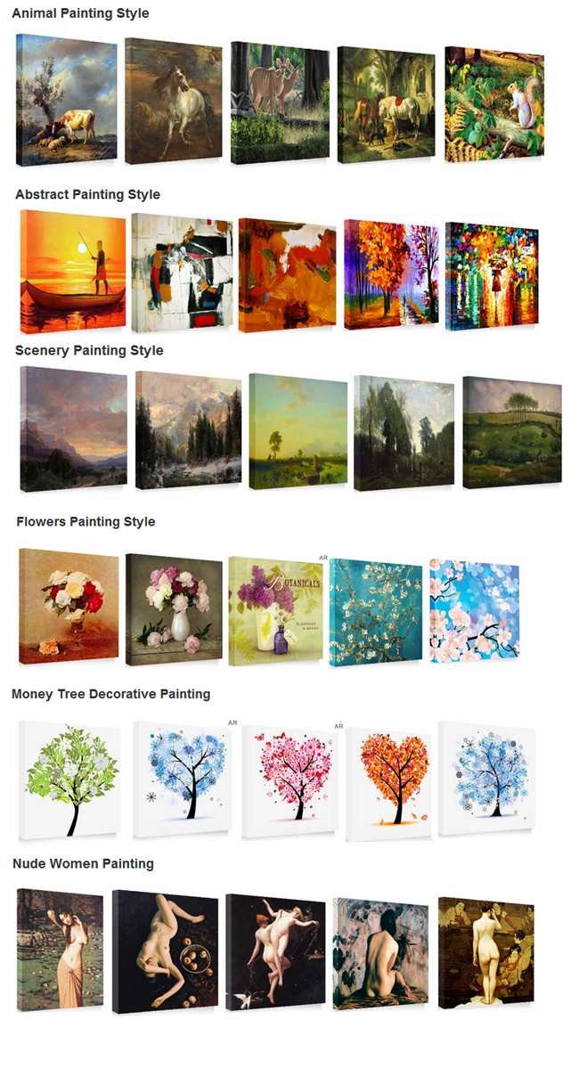 Custom Frameless Painting Print On Wove Paper, Wall Art Picture(19.7